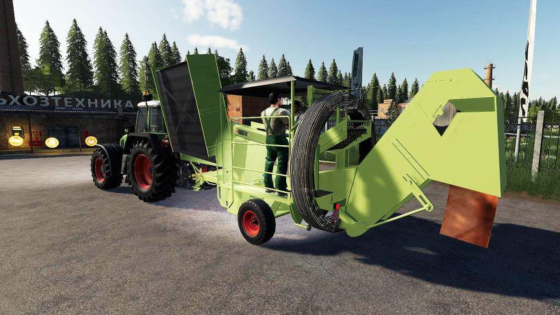 Мод Fortschritt K689 Beet Combine v 1.0 для Farming Simulator 2019
