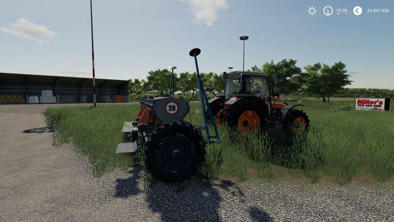 Мод Червона Зирка СЗТ-5.4 v 1.0 для Farming Simulator 2019