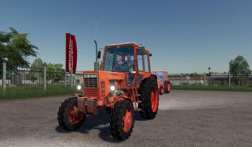 Мод Беларус МТЗ-82 v 1.0.1 для Farming Simulator 2019