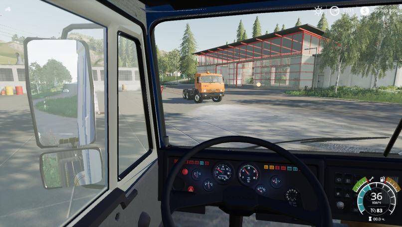 Мод Камаз-5410 v 1.0 New Sound для Farming Simulator 2019