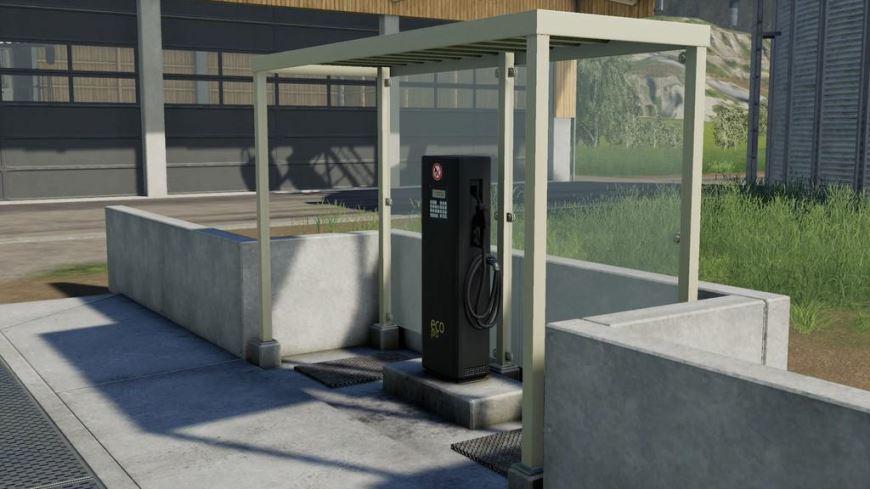 Мод АЗС Fuel Station v 1.0 для Farming Simulator 2019