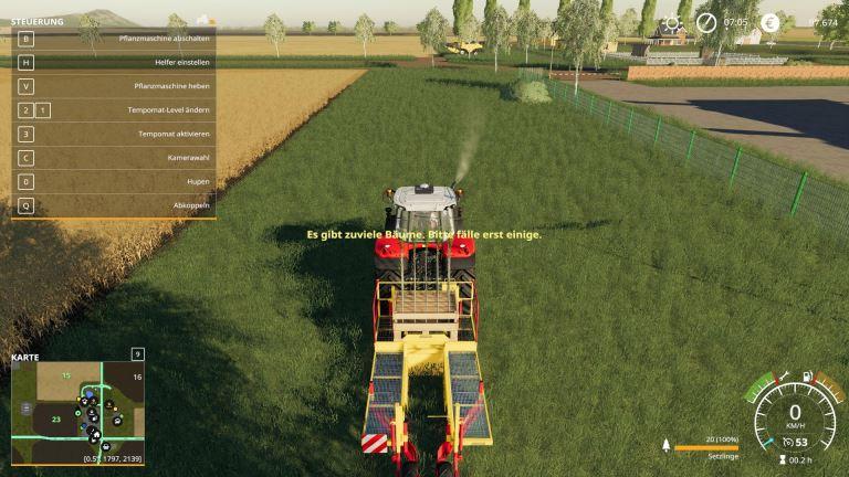 Мод Скрипт More Trees v 1.0 для Farming Simulator 2019