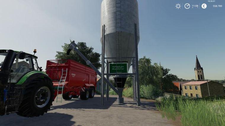 Мод Verkauf von Mischfutter fur Kuhe v 2.0 для Farming Simulator 2019