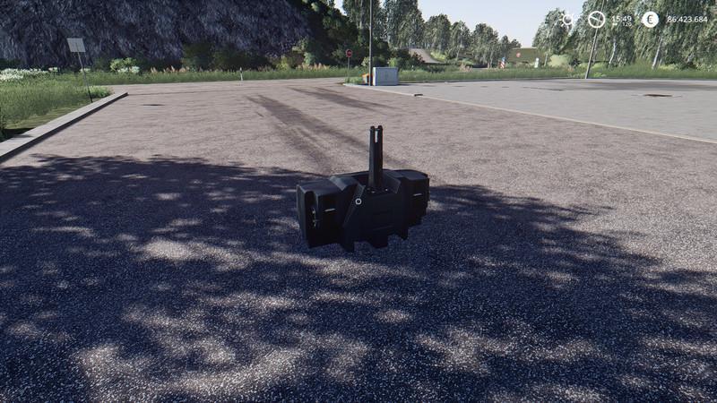 Мод XXL Weight Pack v 1.0.0.3 для Farming Simulator 2019