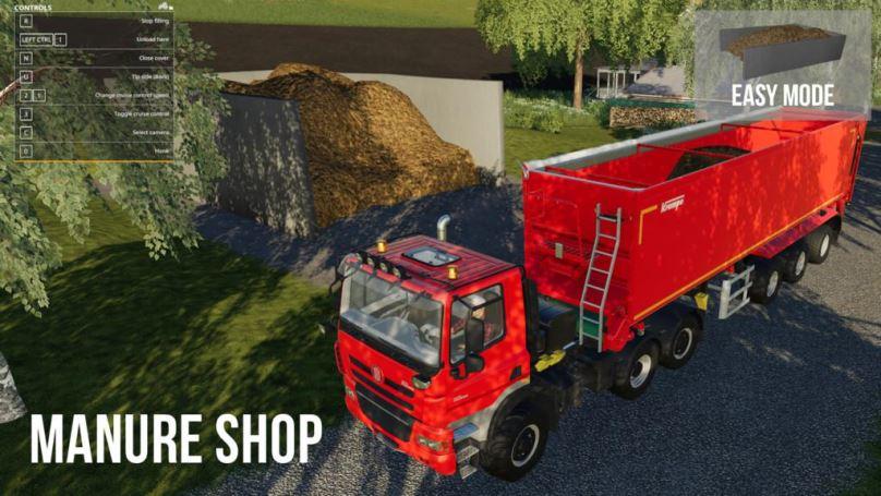 Мод Manure Trading System v 1.0 для Farming Simulator 2019