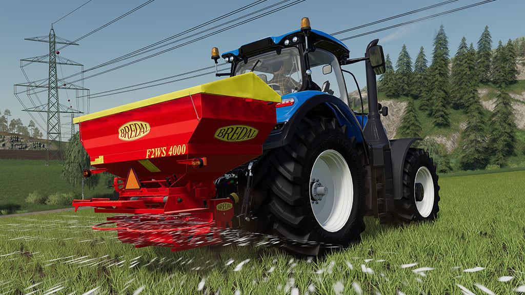 Мод Bredal F2WS 4000 v 1.0 для Farming Simulator 2019