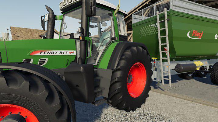 Мод Fendt Vario 800 TMS v 3.0 для Farming Simulator 2019