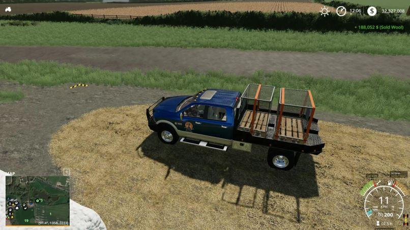 Мод Bale Sale Point (Placeable) v 2.0 для Farming Simulator 2019