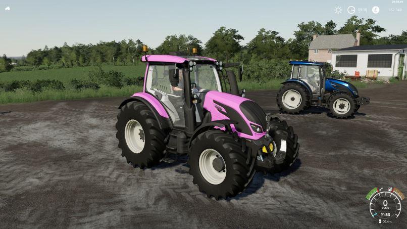 Мод Valtra Series v 1.1.0.6 для Farming Simulator 2019