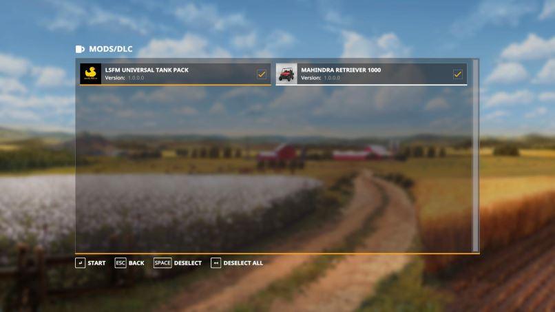 Мод LSFM Universal Tank Pack v 1.0 edit для Farming Simulator 2019