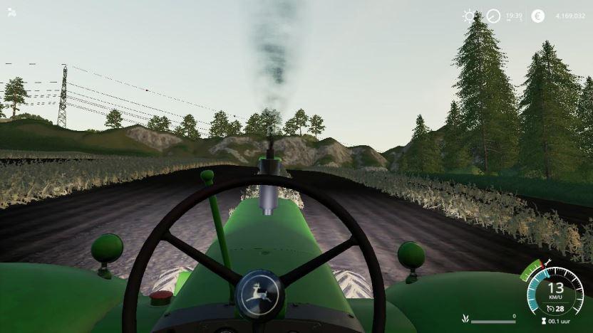 Мод John Deere 80 series old v 1.0 для Farming Simulator 2019