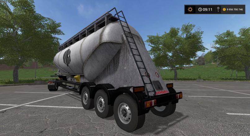 Мод Kogel silotanker v 1.2 для Farming Simulator 2017