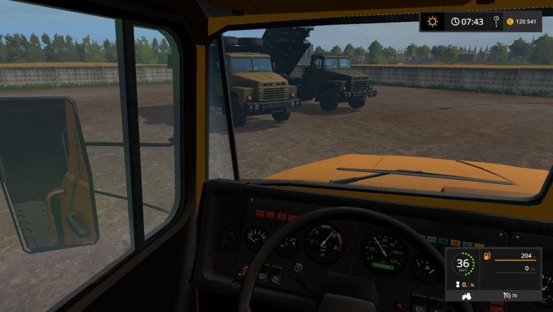 Мод Краз-250 v 1.1 для Farming Simulator 2017