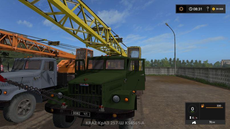Мод Краз-257-Ш КС4561-А v 1.2 для Farming Simulator 2017