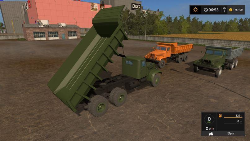 Мод КРАЗ-219 v 1.0 для Farming Simulator 2017