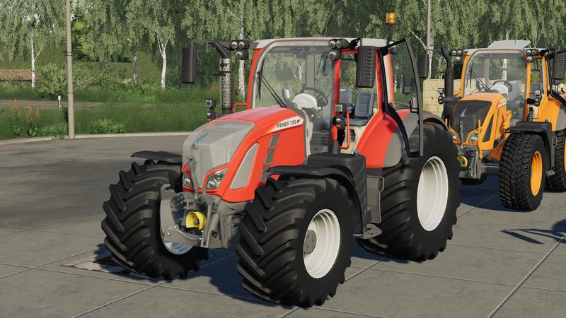 Мод Fendt Vario 700 v 1.0.0 для Farming Simulator 2019