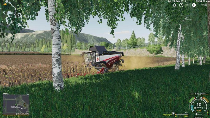 Мод Карта Riverview v2 HD v 0.0.3a для Farming Simulator 2019