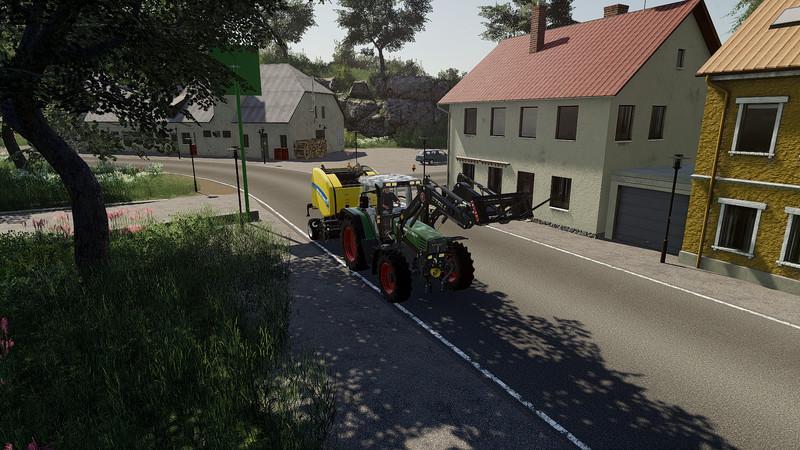 Мод Карта Oberes Glantal in der Sudpfalz v 1.1 для Farming Simulator 2019
