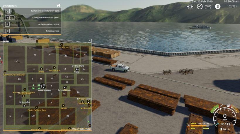 Мод Карта Kiwi Farm Starter Map 4X Multi Fruit v 1.3 для Farming Simulator 2019