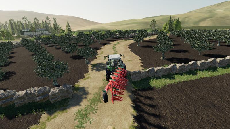 Мод Карта Extremadura Lander v 1.0 для Farming Simulator 2019
