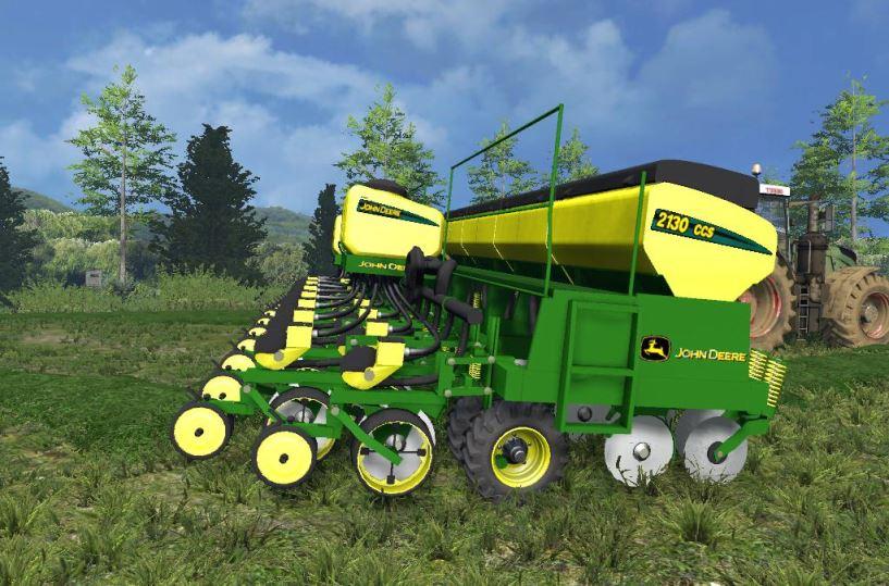 Мод John Deere 2130 CCS Plantadeira v 1.0 для Farming Simulator 2019