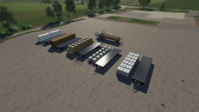 Мод Fliegl DPW 180 Autoload v 1.0 для Farming Simulator 2019