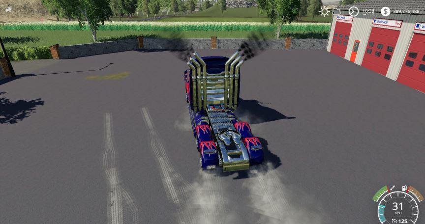 Мод WesternStar Optimus Prime v 1.0 для Farming Simulator 2019