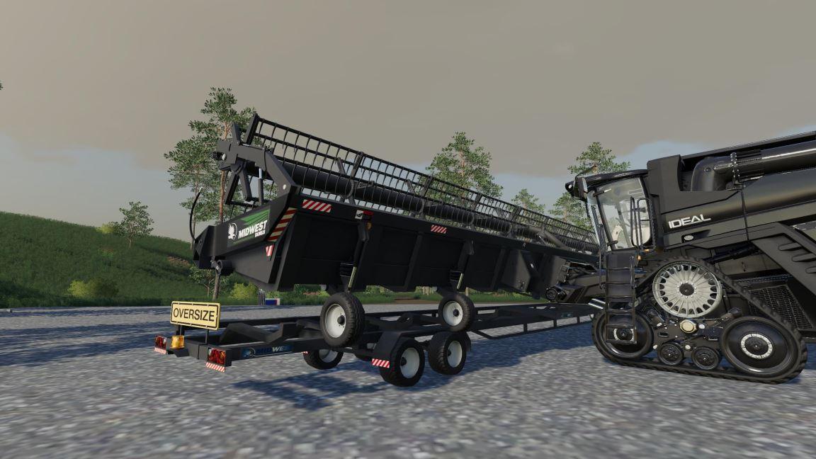 Мод Midwest Durus 55Ft v 1.0 для Farming Simulator 2019