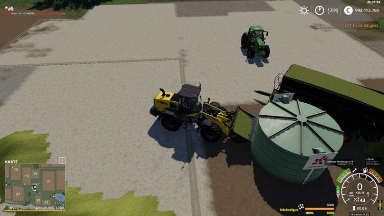 Мод Haeckselgut Tank v 1.0 для Farming Simulator 2019