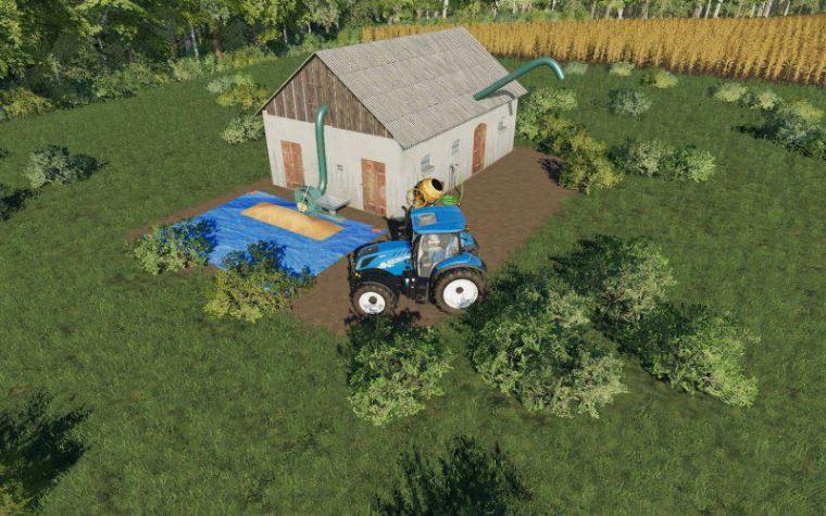 Мод Small silo v 1.0 для Farming Simulator 2019