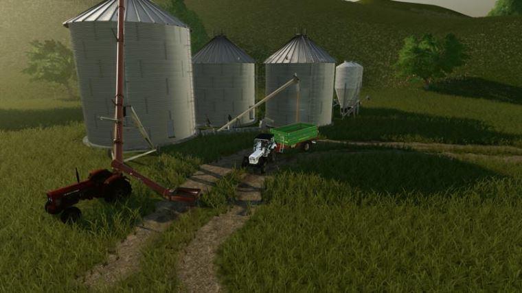 Мод Large Grain Silo v 1.0 для Farming Simulator 2019