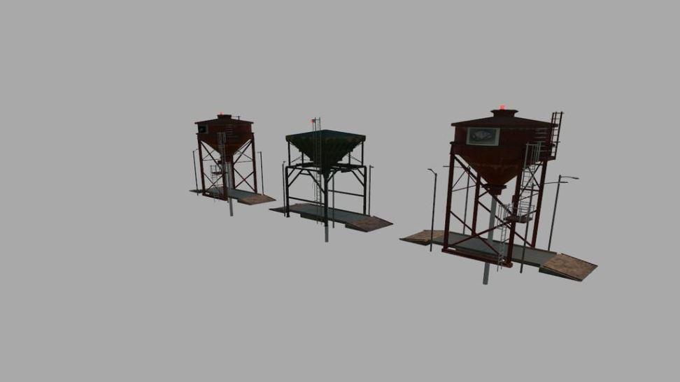 Мод Lagersilo Prefab v 1.0 для Farming Simulator 2019