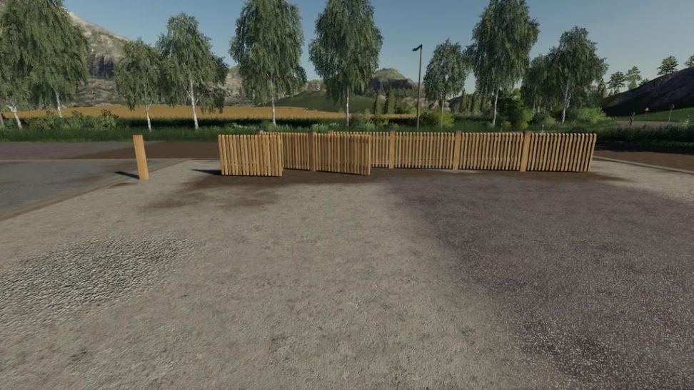 Мод Fence Pack v 1.0 для Farming Simulator 2019