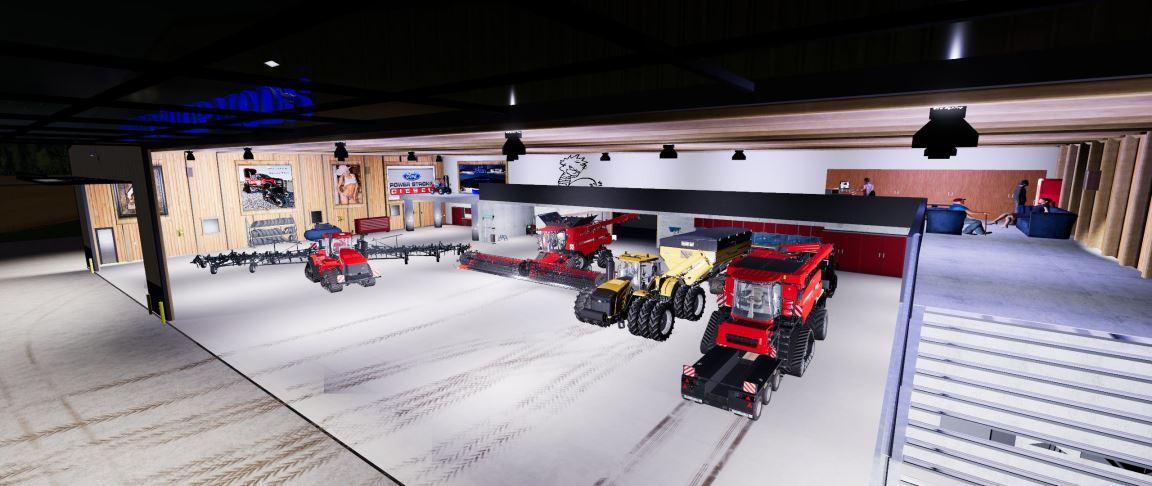 Мод Chop Shop Mods CSM Ultimate Workshop v 1.0.10 для Farming Simulator 2019