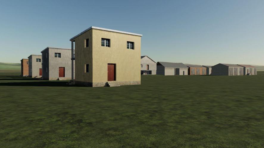 Мод Houses (Low Quality) v 1.0 для Farming Simulator 2019