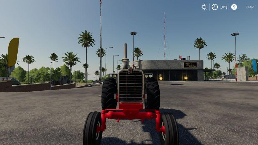 Мод Farmall 1206 Turbo Diesel v 1.1 для Farming Simulator 2019