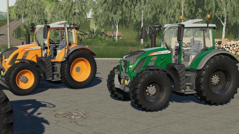 Мод Fendt Vario700 v 1.0 для Farming Simulator 2019
