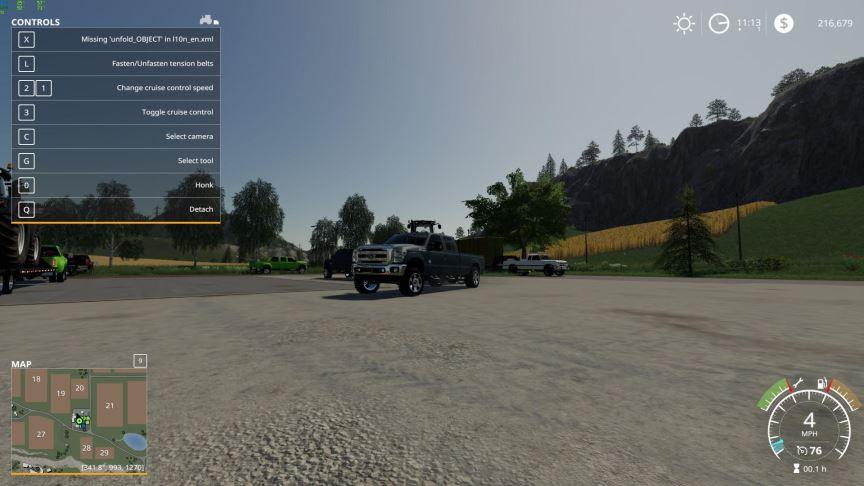 Мод Ford Super Duty v 1.0 для Farming Simulator 2019