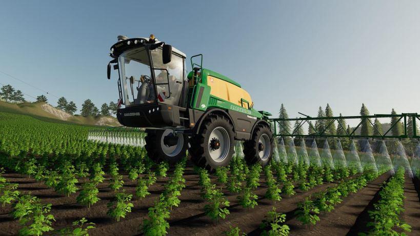 Мод Amazone Pantera 4502 v 1.0 для Farming Simulator 2019
