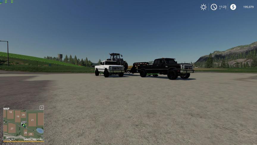Мод Dodge D250 v 1.0 для Farming Simulator 2019