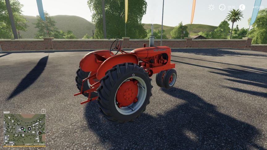 Мод Allis Chalmers WD45 v 2.0 для Farming Simulator 2019