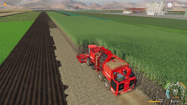 Мод Terradost440 HR12 Multifruit v 2.0 для Farming Simulator 2019