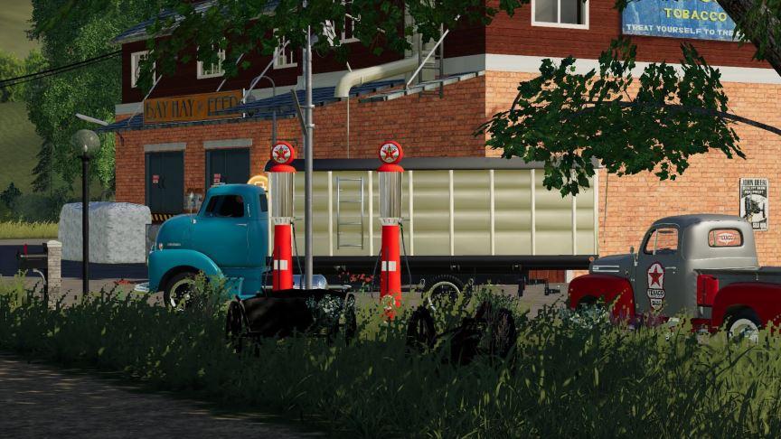 Мод 1948 Chevy Grain Truck v 1.0 для Farming Simulator 2019