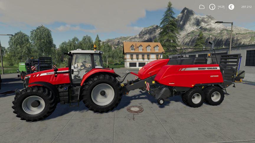 Мод Massey Ferguson 2270 XD v 1.0.0.5 для Farming Simulator 2019
