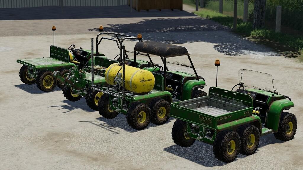 Мод John Deere Gator 6x4 v 1.1 для Farming Simulator 2019