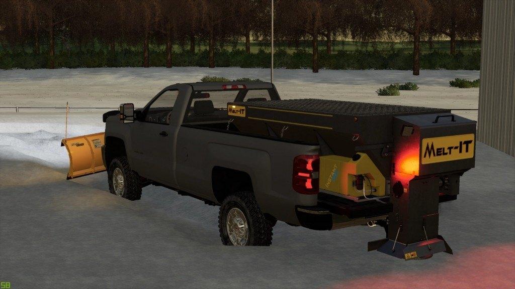 Мод Chevrolet Silverado 2017 WT v 1.0 для Farming Simulator 2019