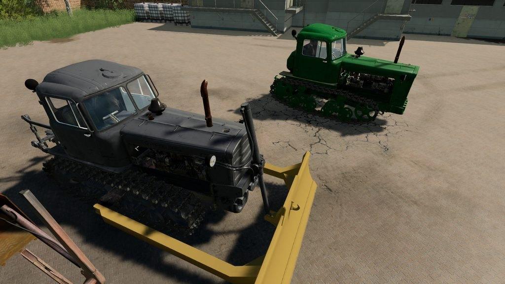 Мод ДТ-75 Казахстан v 2.0.2.1 для Farming Simulator 2019