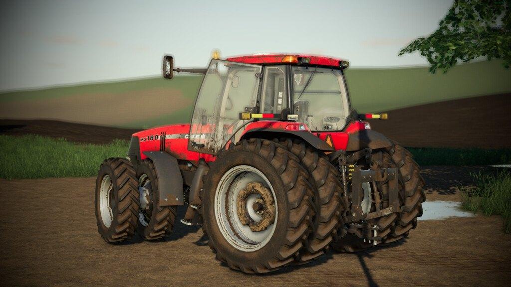 Мод Case Magnum MX Series v 1.0 для Farming Simulator 2019