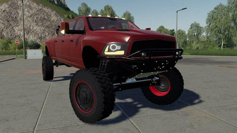 Мод Dodge Mega Ram v 1.0 для Farming Simulator 2019