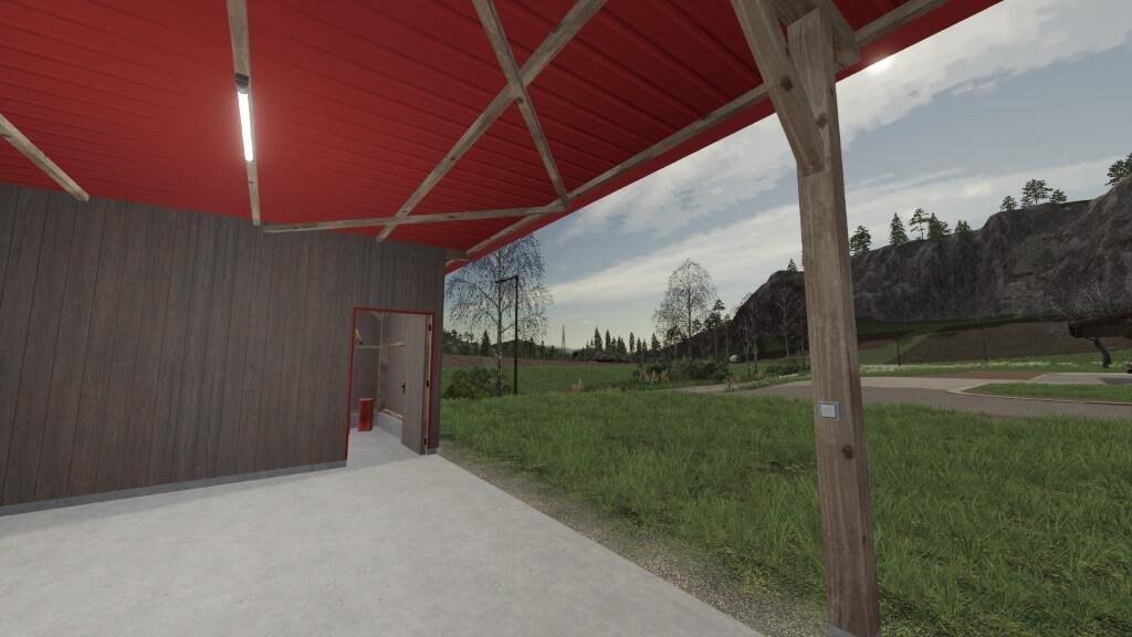 Мод Wooden Shelter Pack v 1.0 для Farming Simulator 2019